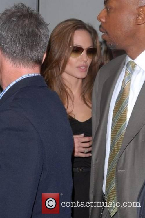 Angelina Jolie, Comedy Central Studios, The Daily Show With Jon Stewart