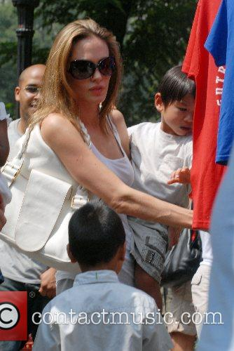 Angelina Jolie and Maddox 7