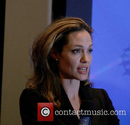 Angelina Jolie Clinton Global Initiative 2007 Annual Meeting...
