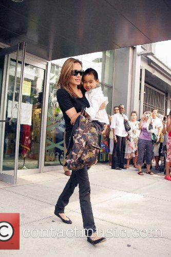 Angelina Jolie and Maddox 3