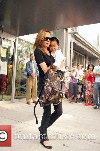 Angelina Jolie and Maddox 10