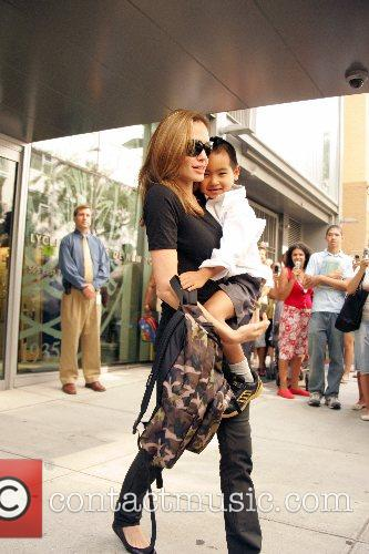 Angelina Jolie and Maddox 11