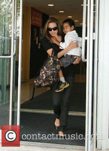 Angelina Jolie and Maddox 1