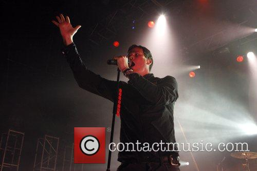 Angels and Airwaves perform at the Astoria.