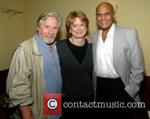 Robert Walden, Christie Carpenter and Harry Belafonte New...