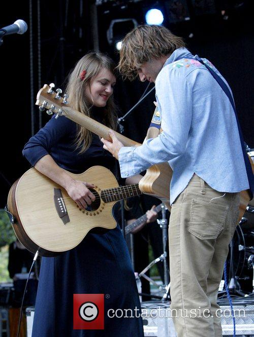 Angus & Julia Stone, Julia Stone perform live at Homebake 2007, Australia's annual outdoor music festival for 'homegrown' bands and held at The Domain. 14