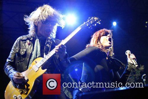 The Divinyls perform live at Homebake 2007, Australia's...