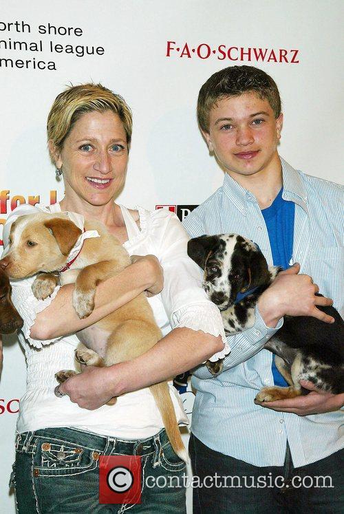 Brandon Hannan and Edie Falco 5