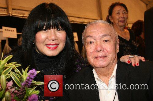 Anna Sui and her family Mercedes-Benz Fashion Week...