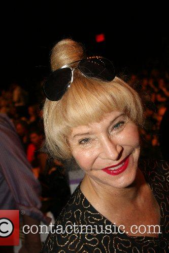 Anita Sarko Mercedes-Benz Fashion Week New York Spring...