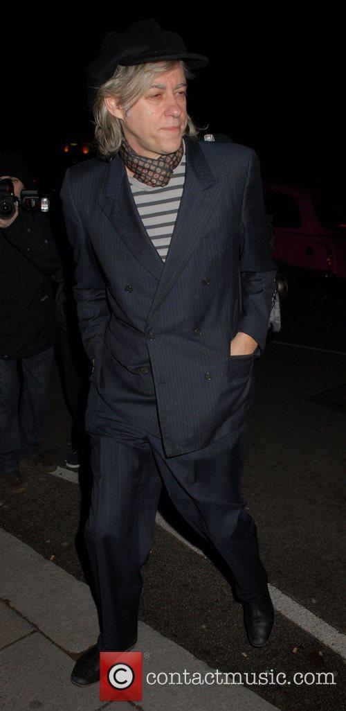 Sir Bob Geldof attends a dinner hosted by...