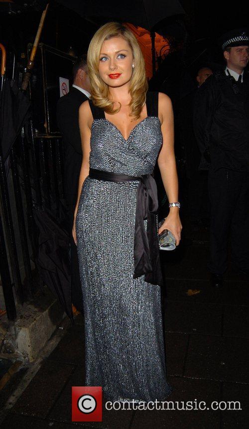 Katherine Jenkins leaving Annabel's night club London, England
