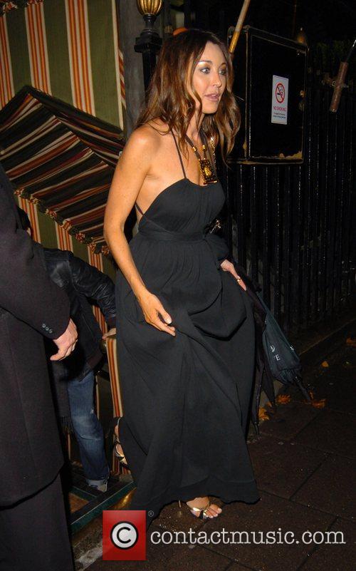 Tamara Mellon leaving Annabel's night club London, England