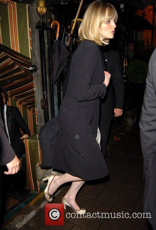 Sophie Dahl leaving Annabel's night club London, England