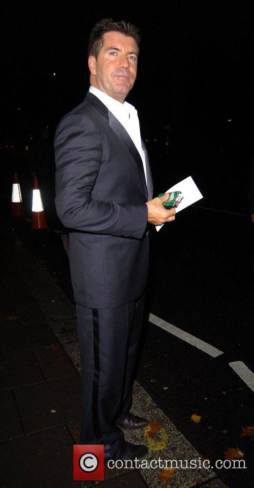 Simon Cowell leaving Annabel's night club London, England