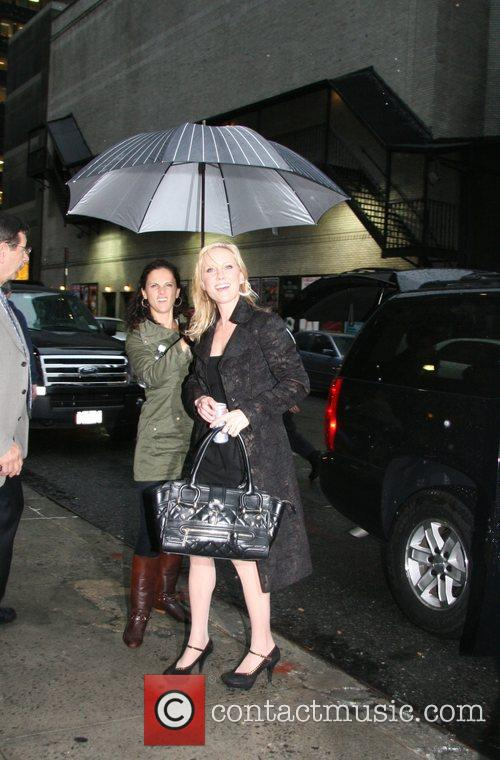 Anne Heche and David Letterman 1
