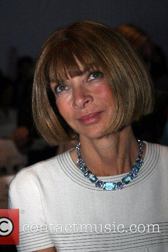 Anna Wintour Mercedes-Benz Fashion Week New York Spring...
