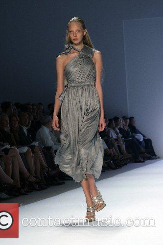 Model Mercedes-Benz Fashion Week New York Spring 2008...
