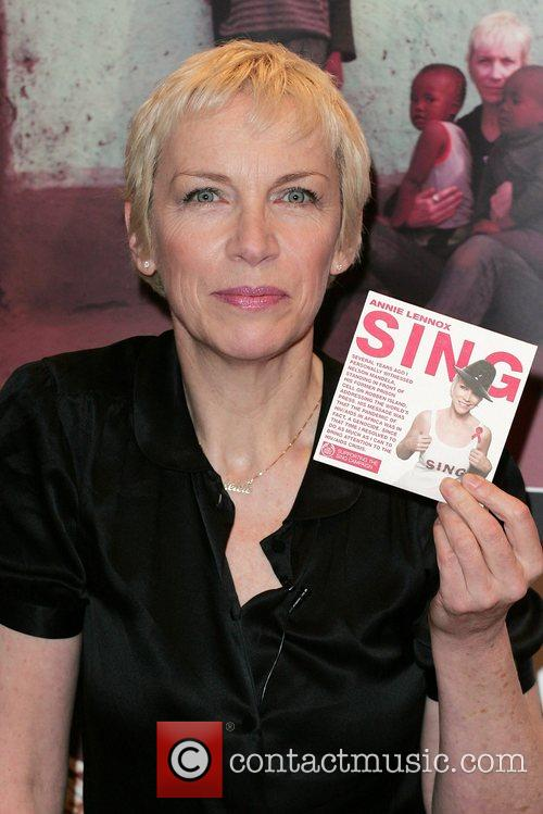 Launches the limited edition 'Sing' CD to raise...