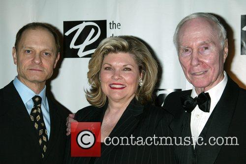 David Hyde Pierce, Debra Monk and Roger Berlind 3