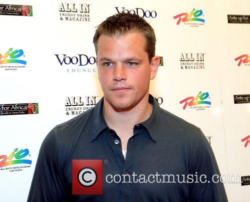 Matt Damon  The Inaugural Celebrity Poker Event...