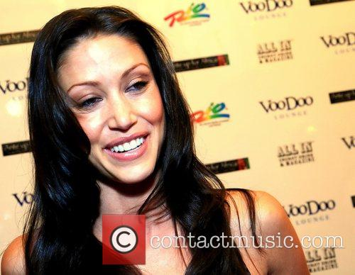 Shannon Elizabeth, Celebrity Poker Event ' Ante Up For Africa ', Rio All-suite Hotel, The Inaugural Celebrity Poker Event