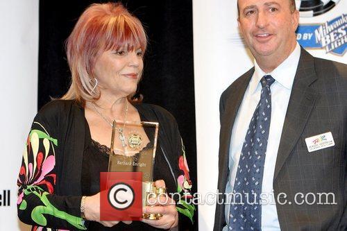 Barbara Enright and Howard Greenbaum, VP of the...