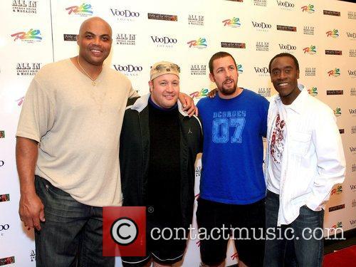 Charles Barkley, Kevin James, Adam Sandler, and Don...