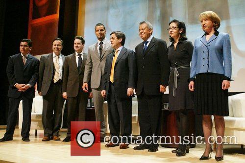 Mauricio Vivero, Ricky Martin, Luis Alberto Moreno Launch...