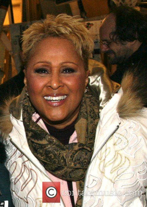 Darlene Love departing ABC Studios after appearing on...