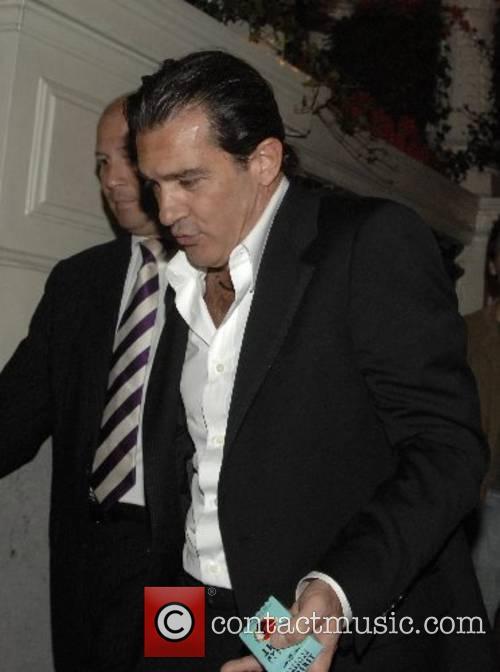 Antonio Banderas in amsterdam voor promotie van zijn...