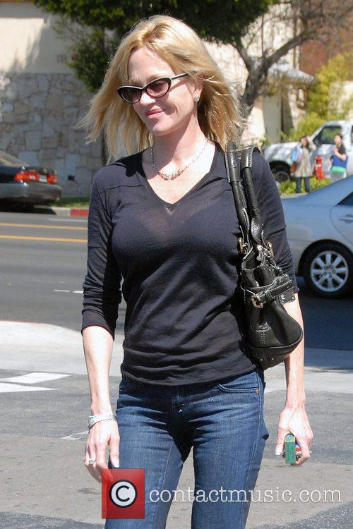 Melanie Griffith leaving a sushi restaurant in South...