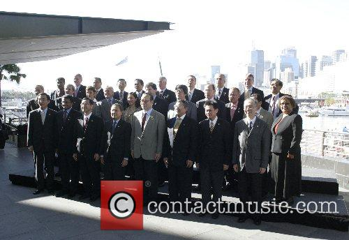 Senior Officials of the 21 countries participating in...