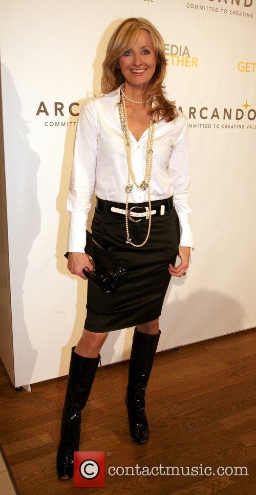 Frauke Ludewig  Arcandor Media Night held at...