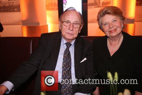 Hans Dietrich Genscher and Guest Arcandor Media Night...