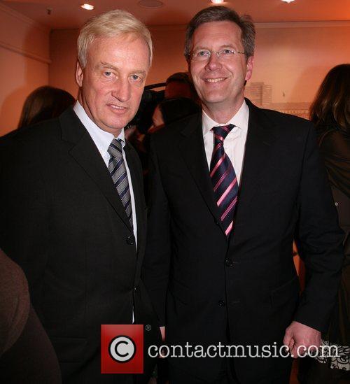 Ole von Beust and Christian Wulff Arcandor Media...