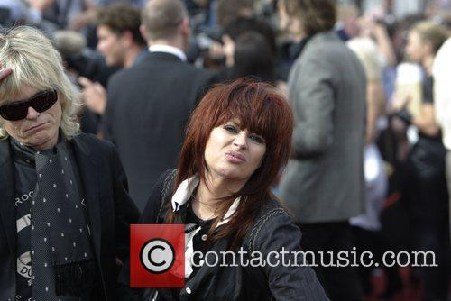 Chrissy Amphlett and Mark McEntee of The Divinyls...