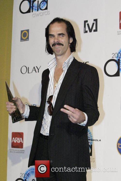 Nick Cave The 2007 ARIA (Australian Recording Industry...