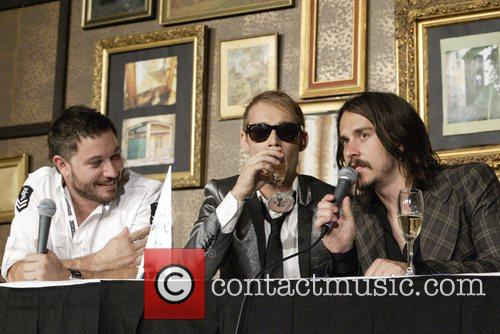 Chris Jouannou, Daniel Johns, Ben Gillies of Silverchair...