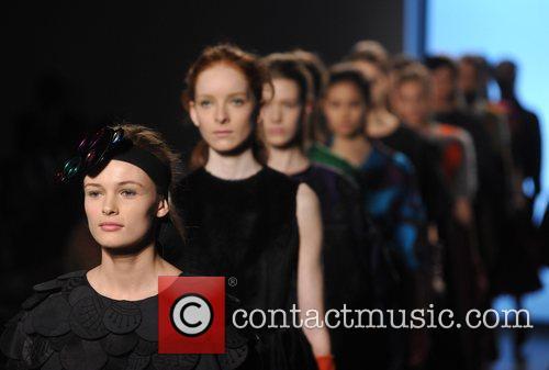 Models London Fashion Week Autumn/Winter 2008 - Armand...