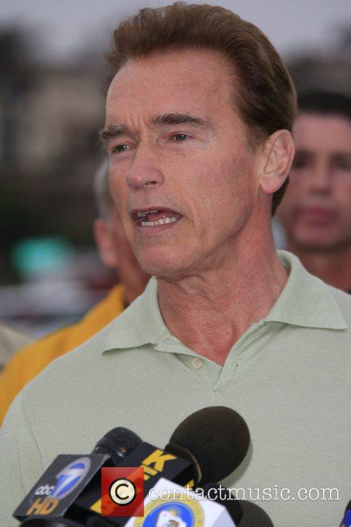 Governor Arnold Schwarzenegger of the state of California...