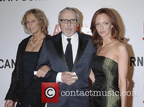 Lauren Hutton, Dennis Hopper and Victoria Duffy 3