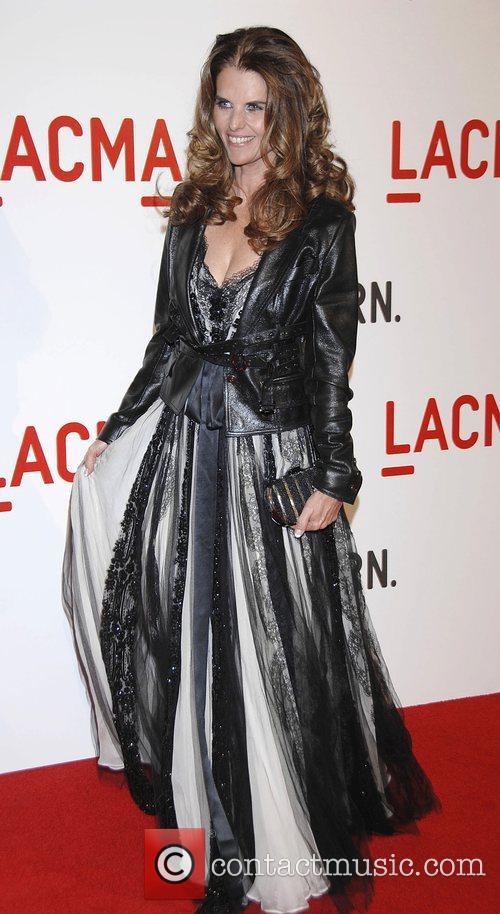 Maria Shriver Arrivals LACMA Opening celebration of the...