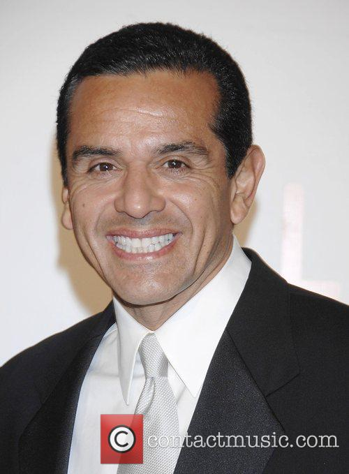 Mayor Antonio Villaraigosa Arrivals Opening celebration of the...