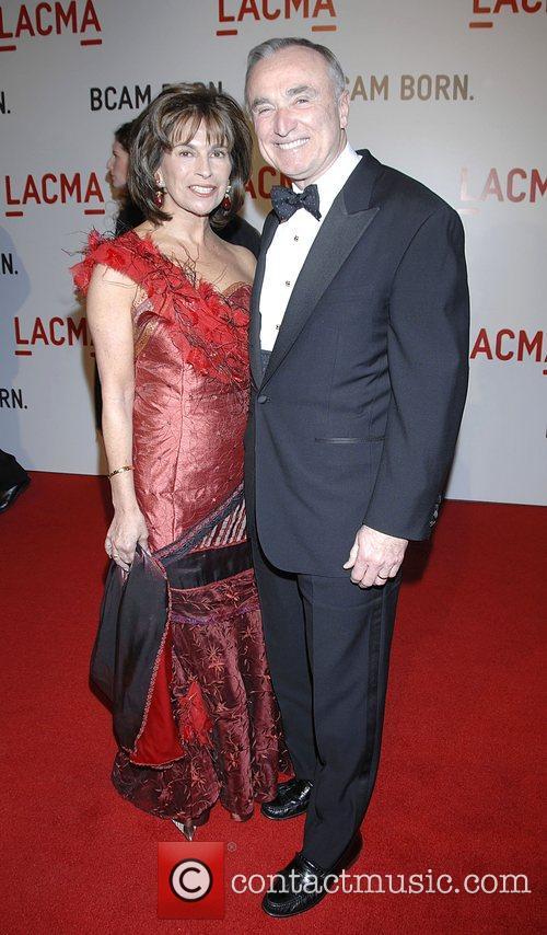 William Bratton and Rikki Klieman Arrivals Opening celebration...