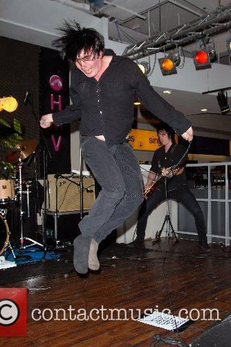 Eddie Argos performs live with Art Brut and...