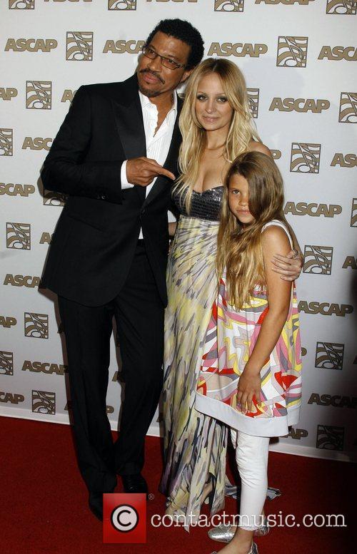 Lionel Richie, Ascap and Nicole Richie 3
