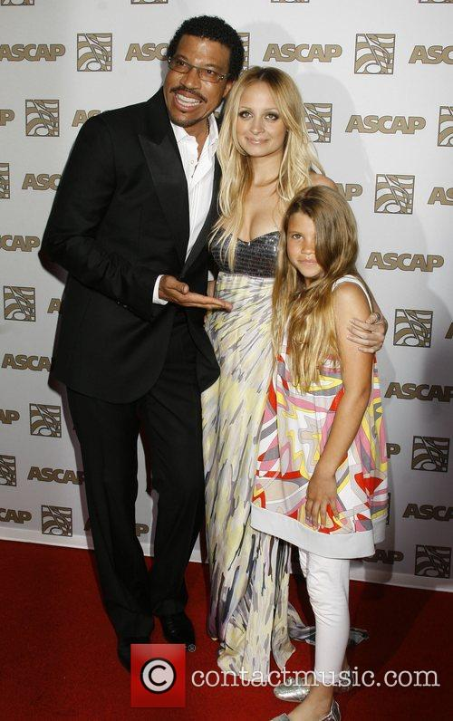 Lionel Richie, Ascap and Nicole Richie 1