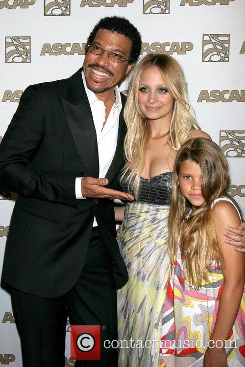 Lionel Richie and Nicole Richie 3