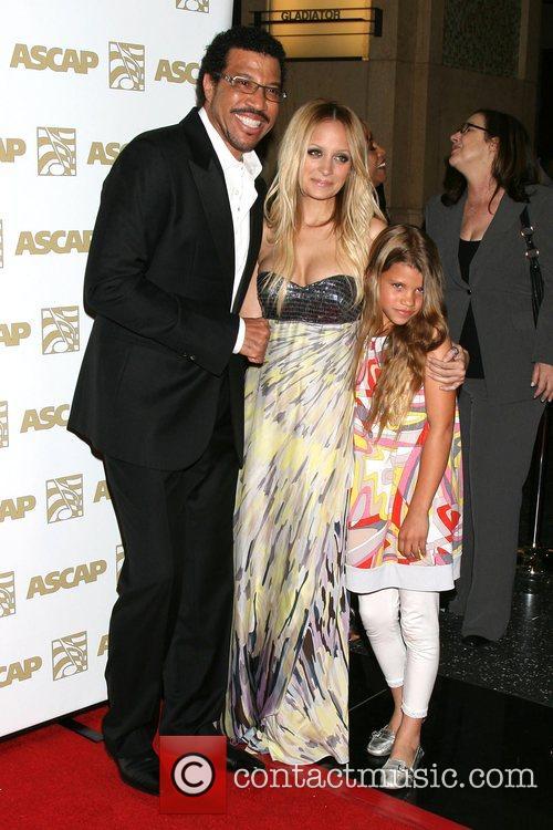Lionel Richie and Nicole Richie 2